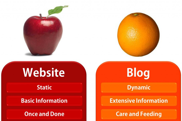 web o blog