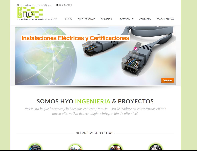 Sitio Web HyO
