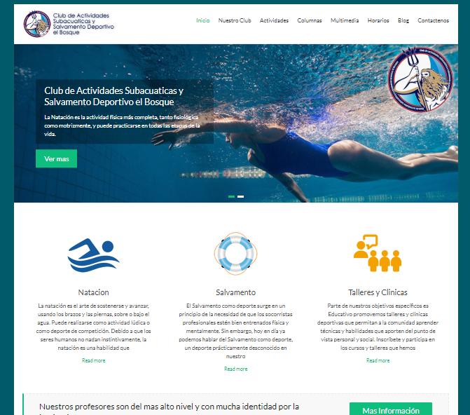 Club de Actividades Subacuaticas y Salvamento Deportivo el Bosque